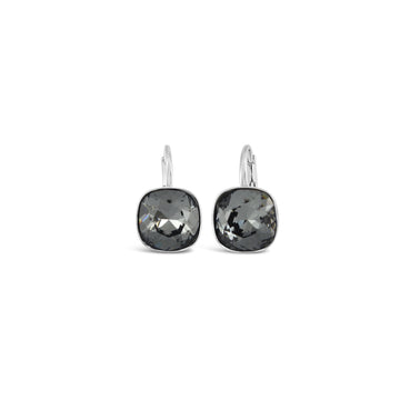 Ceroc Sterling Silver Lever Back 10mm Earrings (Silver Nights)