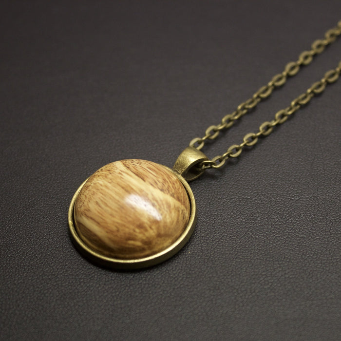 Jive Hand Crafted NZ Native Timber Necklace