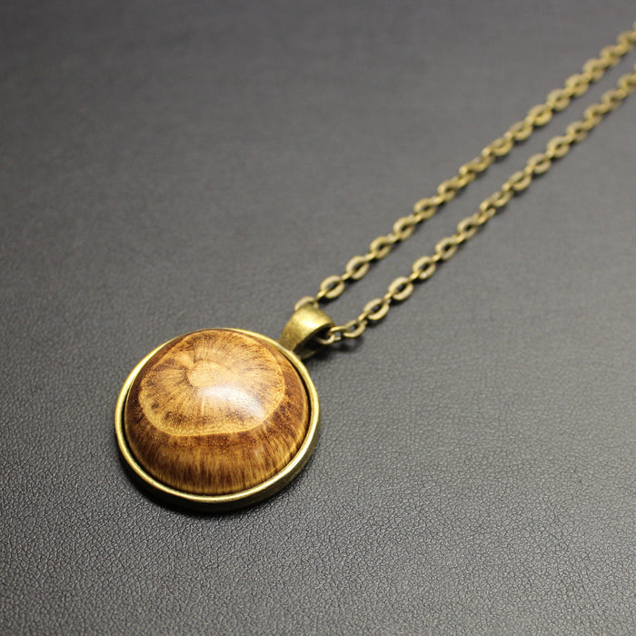 Contemporary Hand Turned NZ Native Timber Necklace