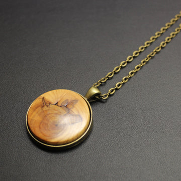 Jive Hand Turned NZ Native Timber Necklace
