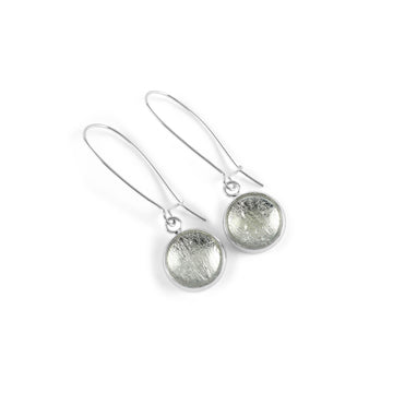 Samba Silver Linings Elongated Drop Earrings (Silver)