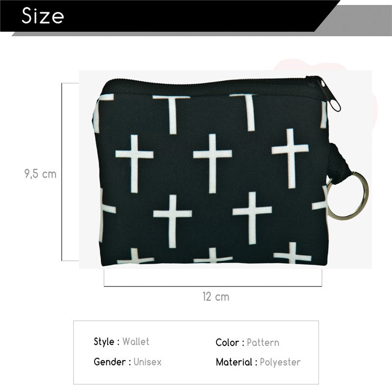 Cross Coin Purses