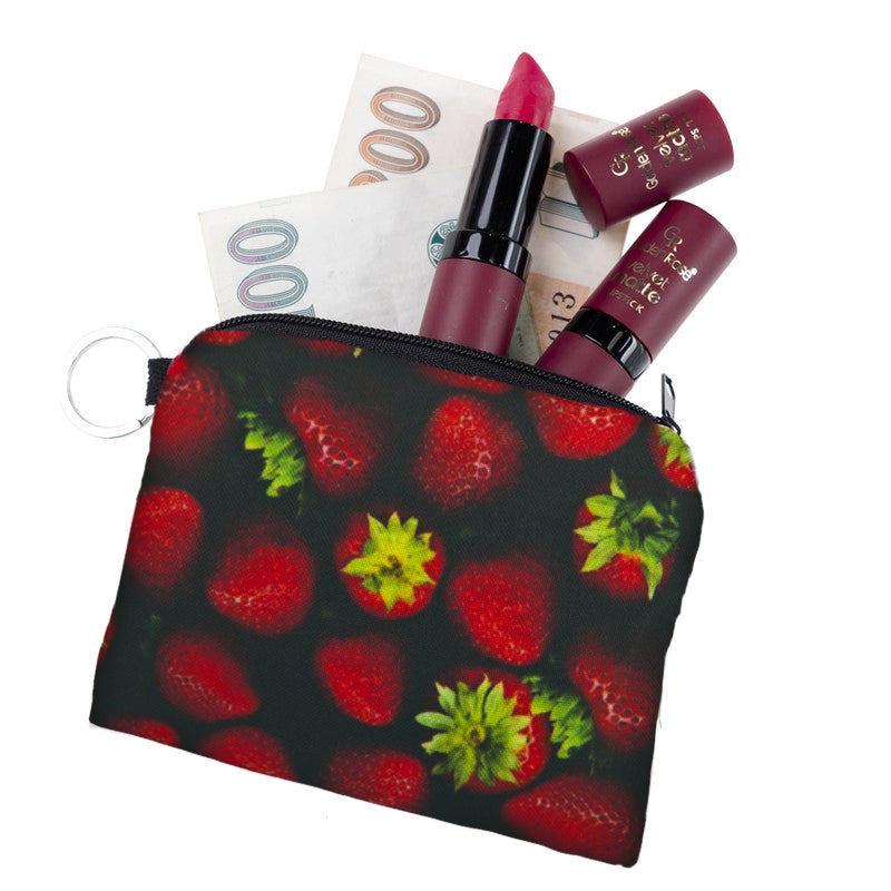 Strawberry Coin Purses
