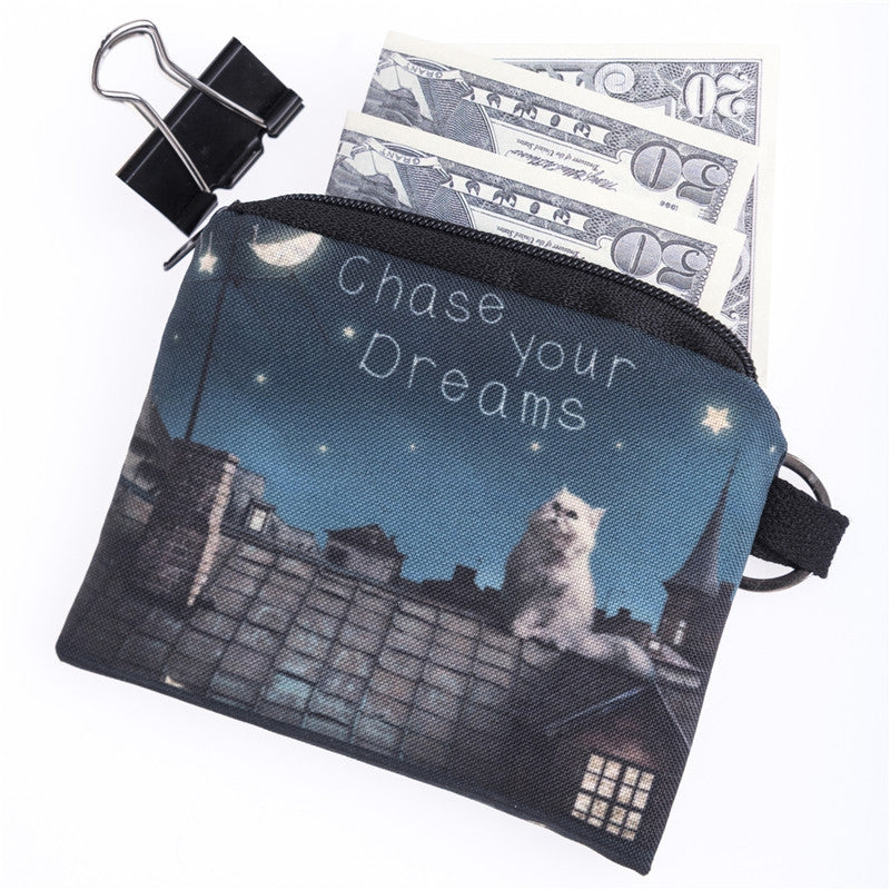 Chase Your Dreams Coin Purses