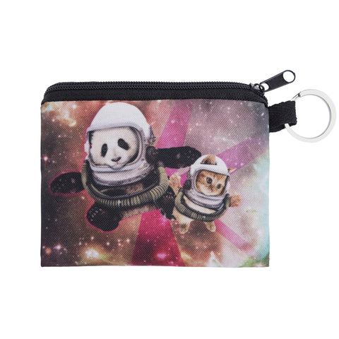 Galaxy Panda and Cat Coin Purses-Wholesale Women's Leggings, Wholesale Plus Size , Wholesale Fashion Clothing