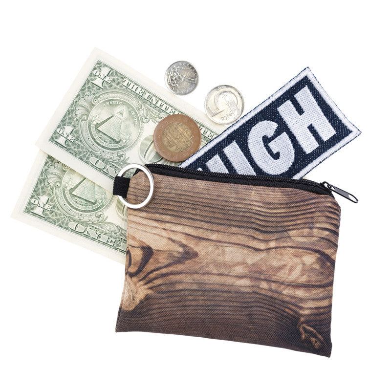 Wood Coin Purses