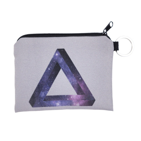 Penrose Triangle Galaxy Coin Purses-Wholesale Women's Leggings, Wholesale Plus Size , Wholesale Fashion Clothing