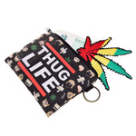 Thug Life Emoji Coin Purses-Wholesale Women's Leggings, Wholesale Plus Size , Wholesale Fashion Clothing