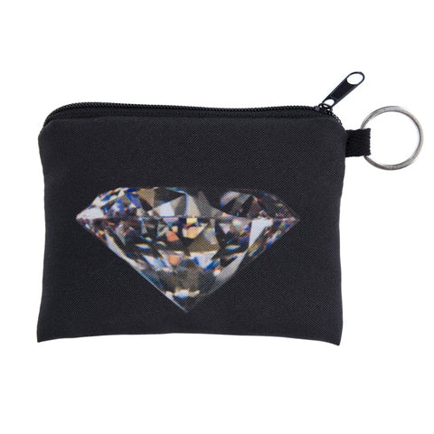 Diamond Black Coin Purses-Wholesale Women's Leggings, Wholesale Plus Size , Wholesale Fashion Clothing