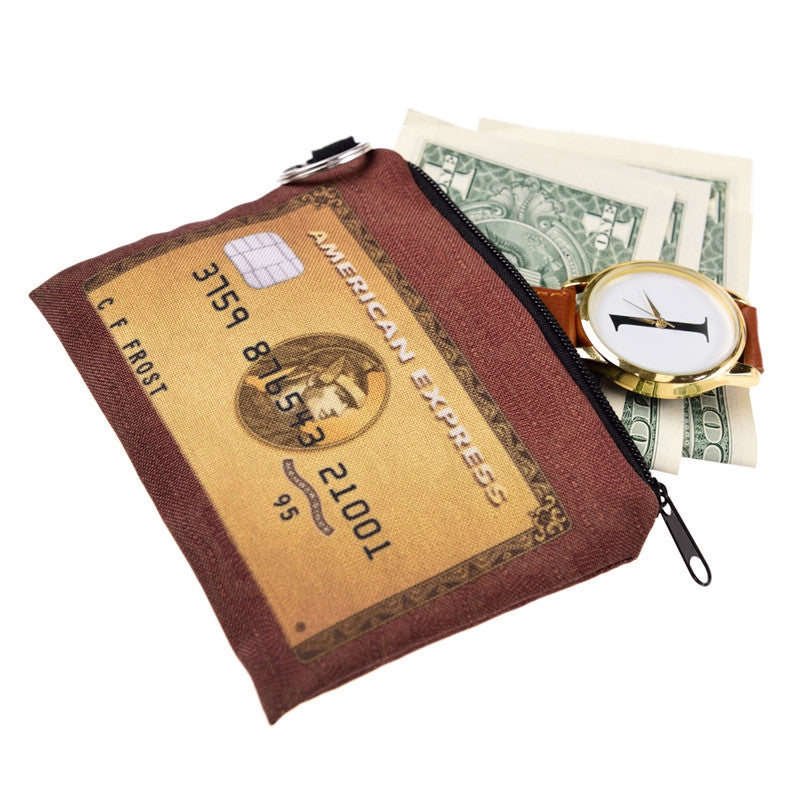 American Express Coin Purses