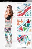 Aztec Morski Regular Leggings-Wholesale Women's Leggings, Wholesale Plus Size , Wholesale Fashion Clothing