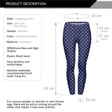 pastels dots Regular Leggings-Wholesale Women's Leggings, Wholesale Plus Size , Wholesale Fashion Clothing