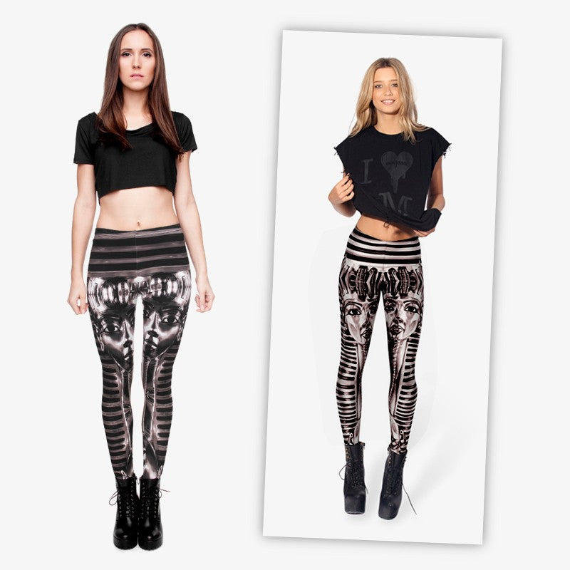 Black Tutenh Regular Leggings