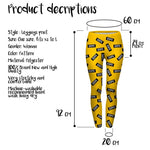 Dope Dope Yellow Regular Leggings-Wholesale Women's Leggings, Wholesale Plus Size , Wholesale Fashion Clothing