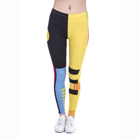 Geometry Regular Leggings-Wholesale Women's Leggings, Wholesale Plus Size , Wholesale Fashion Clothing