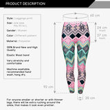 Aztec Rozowy Regular Leggings-Wholesale Women's Leggings, Wholesale Plus Size , Wholesale Fashion Clothing