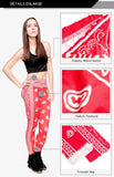 Bandana Red Regular Leggings-Wholesale Women's Leggings, Wholesale Plus Size , Wholesale Fashion Clothing