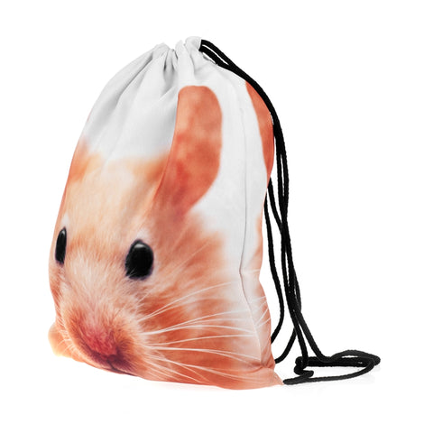 Hamster DrawString Bags-Wholesale Women's Leggings, Wholesale Plus Size , Wholesale Fashion Clothing