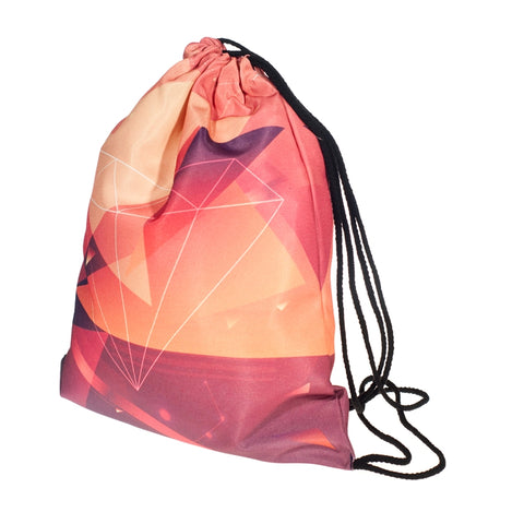 Diamond DrawString Bags-Wholesale Women's Leggings, Wholesale Plus Size , Wholesale Fashion Clothing