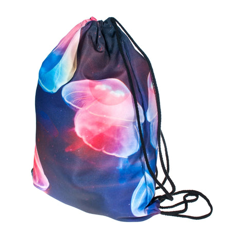 Jellyfish DrawString Bags-Wholesale Women's Leggings, Wholesale Plus Size , Wholesale Fashion Clothing