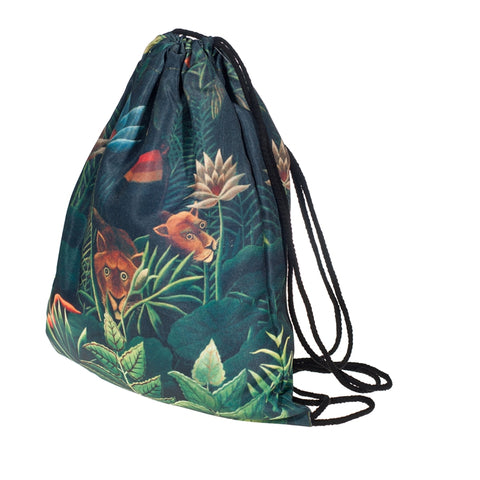 Jungle DrawString Bags-Wholesale Women's Leggings, Wholesale Plus Size , Wholesale Fashion Clothing