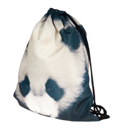 Panda DrawString Bags-Wholesale Women's Leggings, Wholesale Plus Size , Wholesale Fashion Clothing