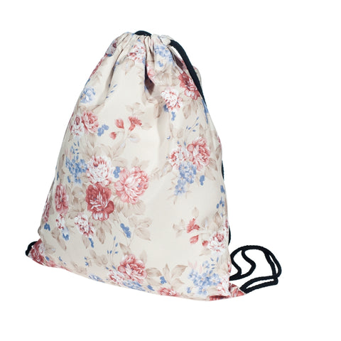 Vintage Flowers DrawString Bags-Wholesale Women's Leggings, Wholesale Plus Size , Wholesale Fashion Clothing