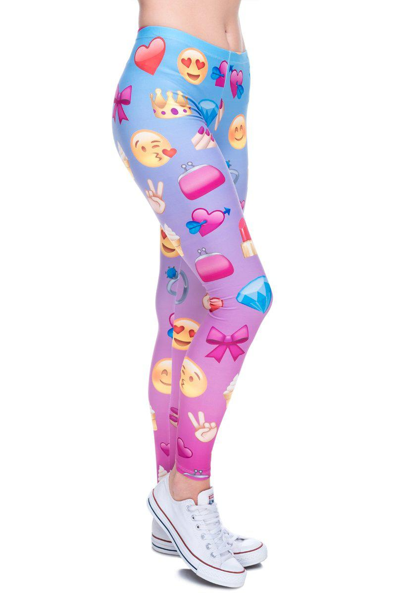 Emoji Girl Regular Leggings