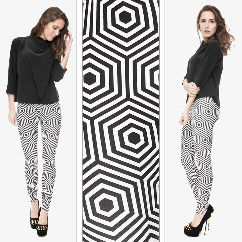 Hypnose Hexagon Regular Leggings