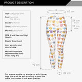 Emoji Regular Leggings-Wholesale Women's Leggings, Wholesale Plus Size , Wholesale Fashion Clothing