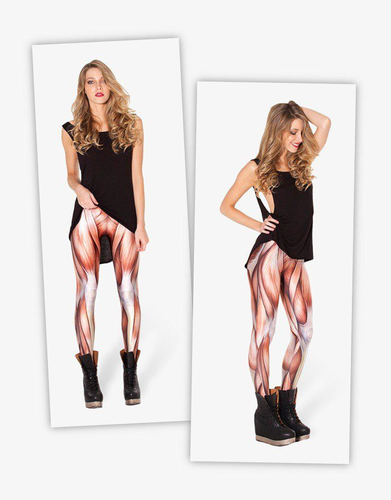 Muscles Regular Leggings