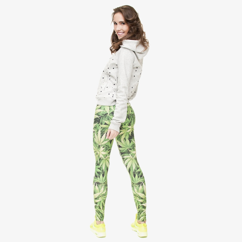 Marijuana Regular Leggings