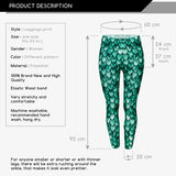 Dragon Regular Leggings-Wholesale Leggings UK- Wholesale Women's Clothing- Kukubird Creative Studio