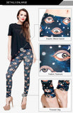 Eyes Regular Leggings-Wholesale Women's Leggings, Wholesale Plus Size , Wholesale Fashion Clothing
