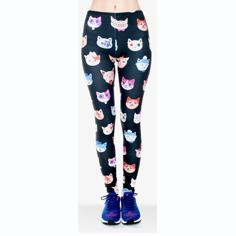 Kotki Regular Leggings-Wholesale Women's Leggings, Wholesale Plus Size , Wholesale Fashion Clothing
