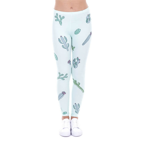 Go Sit on a Cactus Regular Leggings-Wholesale Women's Leggings, Wholesale Plus Size , Wholesale Fashion Clothing