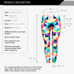 Triangles Regular Leggings-Wholesale Women's Leggings, Wholesale Plus Size , Wholesale Fashion Clothing