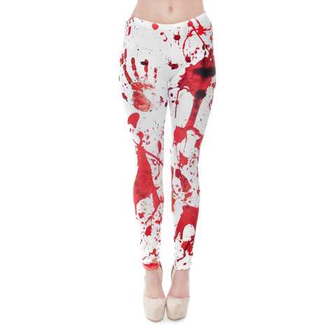 Blood Regular Leggings-Wholesale Women's Leggings, Wholesale Plus Size , Wholesale Fashion Clothing