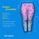 Unicorn And Sweets Plus Leggings-Wholesale Women's Leggings, Wholesale Plus Size , Wholesale Fashion Clothing