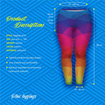 Rainbow Plus Leggings-Wholesale Women's Leggings, Wholesale Plus Size , Wholesale Fashion Clothing