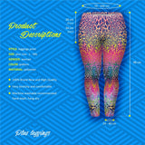 Coloured Spots Plus Leggings-Wholesale Women's Leggings, Wholesale Plus Size , Wholesale Fashion Clothing