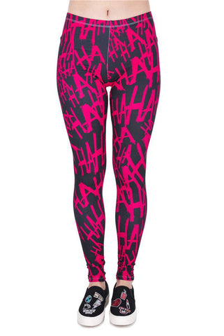 HAHAHA Regular Leggings-Wholesale Women's Leggings, Wholesale Plus Size , Wholesale Fashion Clothing