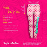Flamezing Hearts Regular Leggings-Wholesale Women's Leggings, Wholesale Plus Size , Wholesale Fashion Clothing