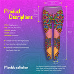 Mandala Colourful Regular Leggings-Wholesale Women's Leggings, Wholesale Plus Size , Wholesale Fashion Clothing