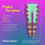 Mandala Dots Regular Leggings-Wholesale Women's Leggings, Wholesale Plus Size , Wholesale Fashion Clothing