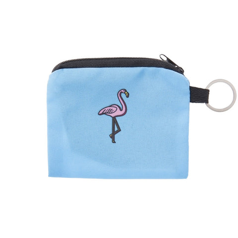 3D Flamingo Coin Purses-Wholesale Leggings UK- Wholesale Women's Clothing- Kukubird Creative Studio
