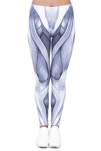 Anatomy Lesson Regular Leggings-Wholesale Women's Leggings, Wholesale Plus Size , Wholesale Fashion Clothing