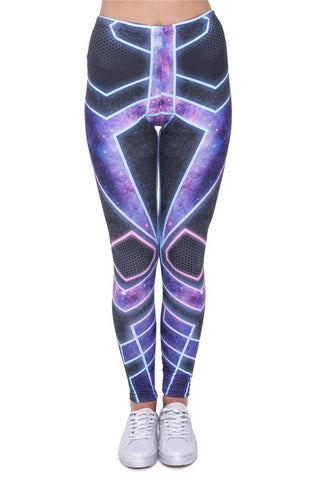 Cyber Pants Regular Leggings-Wholesale Women's Leggings, Wholesale Plus Size , Wholesale Fashion Clothing