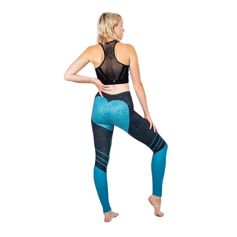 Benzene Ring Regular Leggings