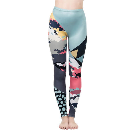 Color Clouse Regular Leggings-Wholesale Women's Leggings, Wholesale Plus Size , Wholesale Fashion Clothing